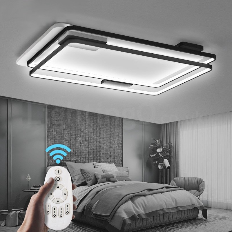 Modern Exquisite Flush Mount Ceiling Lights With Acrylic Shade Lamp - Ceiling lights for bedrooms uk