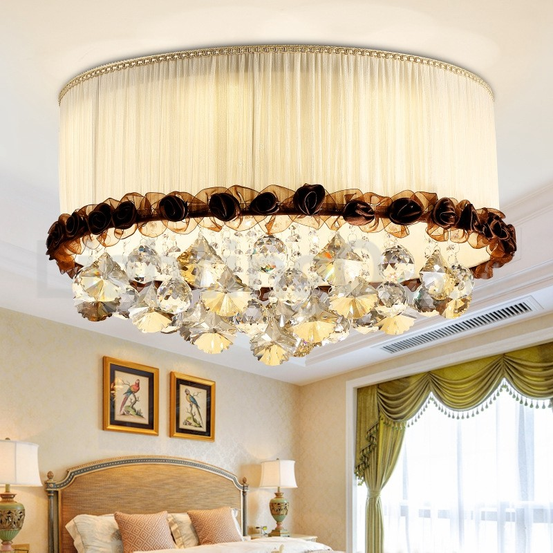 Contemporary Modern 50cm Round Flush, Contemporary Living Room Ceiling Lights Uk