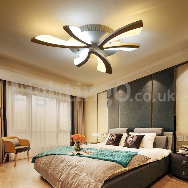 Hot Sale 3 Lights Fashion Modern Flush Mount Ceiling Lights Living Room Dining Room Bedroom