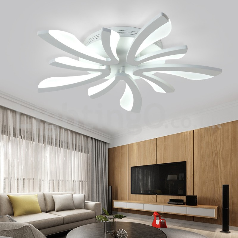 Best 5 Lights Cheap Modern Flush Mount Ceiling Lights Living Room Dining Room Bedroom Study