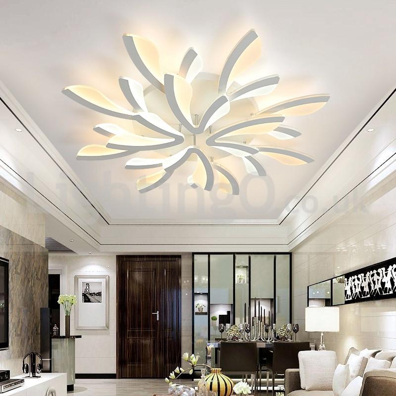 Newest 12 Lights Elegant Modern Flush Mount Ceiling Lights