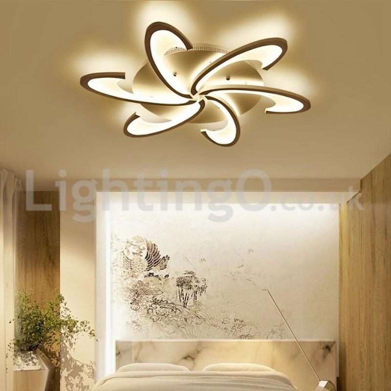Cheap 6 Bulbs Modern Flush Mount Ceiling Lights Living Room Dining Bedroom