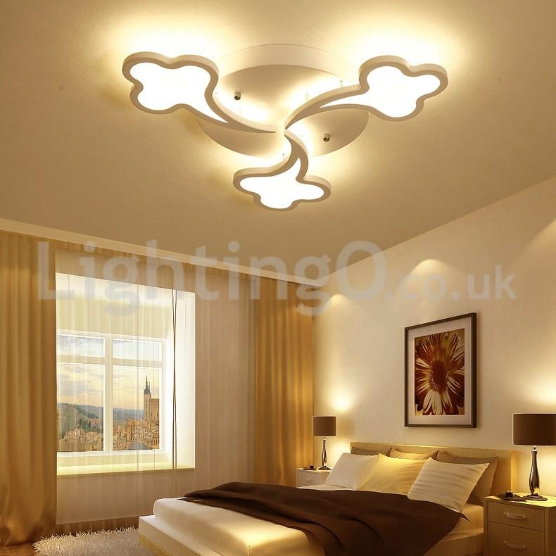 Living Room Restaurant Kuching: Cheap Meteor Shower Design Modern Flush Mounted Ceiling