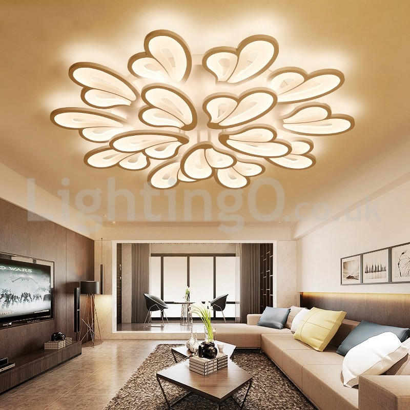 Modern Fashion Flush Mounted Ceiling Lights Study Room