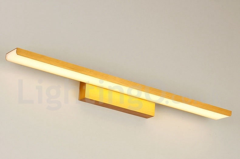 Modern Bathroom 3 3w Acrylic Led Make Up Mirror Lamp Wall: IP44 61cm High Quality 24W LED Mirror Lamp Bathroom Lights