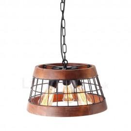 3 Light Adjustable Chandelier Pendant Branching Lamp Light Fixture Industrial