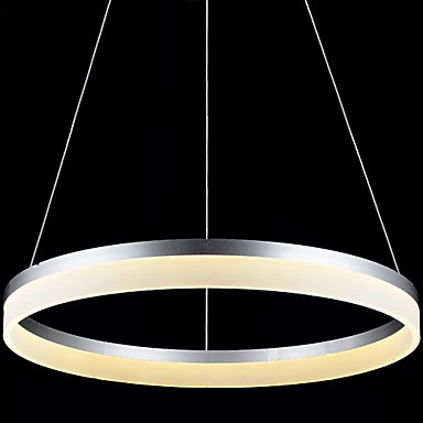 Round LED Pendant Light Modern Acrylic Lamps Lighting Luxurious Single Ring D100CM Ceiling Lights Fixtures