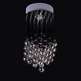 50W 1Light Clear light K9 Crystal Chandelier Lamp