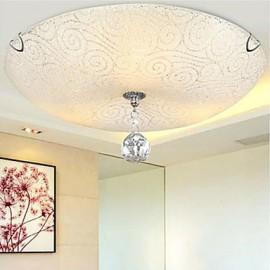 Max 40W Crystal Flush MountLiving Room / Bedroom / Dining Room / Kitchen / Study Room/Office / Kids Room / Entry / Game Room / Hallway /