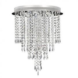 3W Modern/Contemporary Crystal / LED Chrome Crystal Flush MountLiving Room / Bedroom / Dining Room / Kitchen / Study Room/Office / Kids