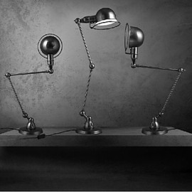 Swing Arm Desk Lamps, Traditional/Classic Metal