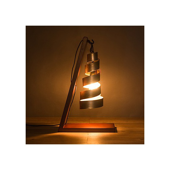 Modern Minimalist Solid Wood Table Lamp Bedside Lamp Desk