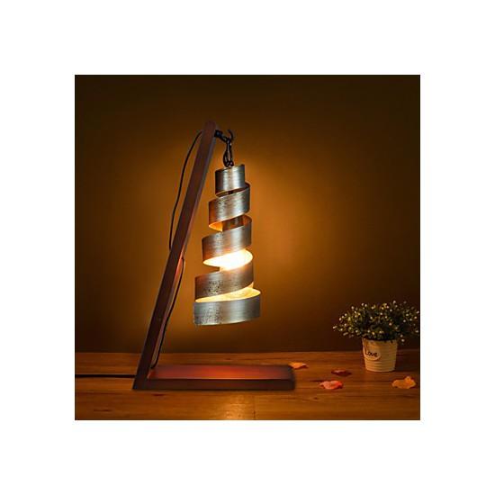 Modern Minimalist Solid Wood Table Lamp Bedside Lamp Desk