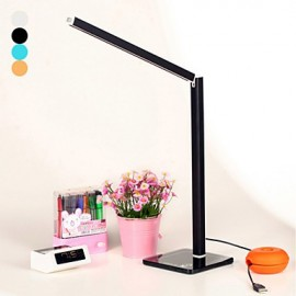 Modern Creative Foldable Collapsible Multicolor USB Touch Control 800Lux LED Desk Lamp Table Lamp