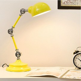 LED/Swing Arm/Eye Protection Desk Lamps, Novelty Metal