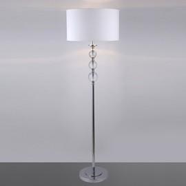 Modern Floor Lamp With Glass Balls Decoration