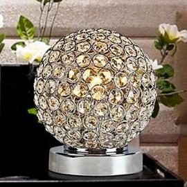 LED Crystal Table Lamp