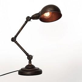 WestMenLights Industrial Gooseneck Desk Table Lamp Black Retro Antique Reading Lights
