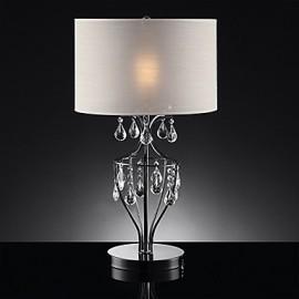 60W E27 Modern Table Lamp in Warm White Shade