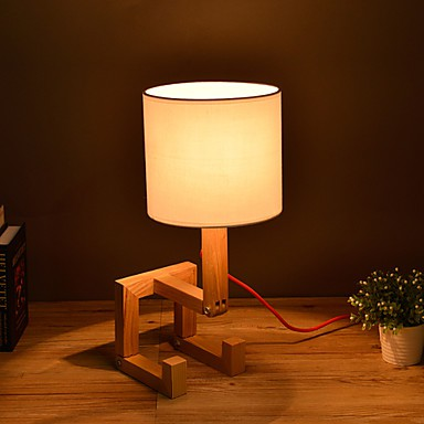 artistical wood table lamp. Black Bedroom Furniture Sets. Home Design Ideas
