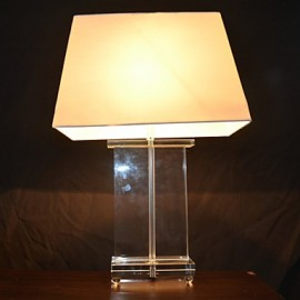 60W Artistic Table Lamp with Fantastic Crystal Stand