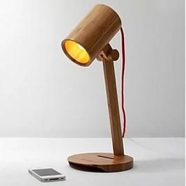 Geek Library Bamboo Qualitative The Soloist Desk Lamp
