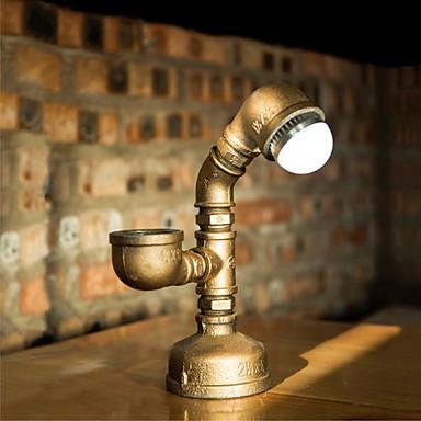 2015 Industrial Steampunk Custom Desk Pipe Lamp Led Bulb