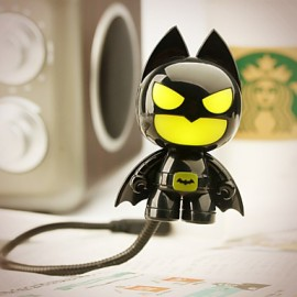 6*6*10CM Christmas Fun To Play With Ideas Of Cute Series Batman Usb Small Night Light Lamp Keyboard Lamp Light Led
