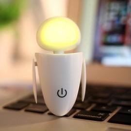 3*3*6CM Christmas Present Creative Robot Eva Model Usb Small Night Light Lamp Personality Lamp Light Led