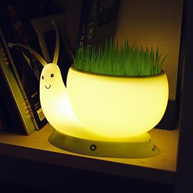 18 5 8 8 9 5cm Snail Light Creative Small Night Light Usb